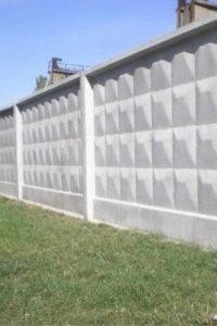 забор ЖБИ