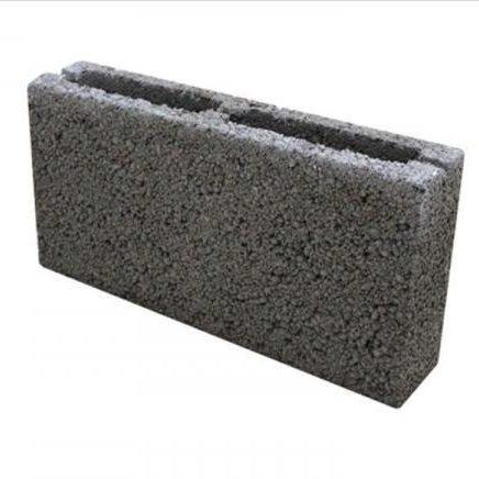 Блок керамзитобетонный 390 х 190 х 90