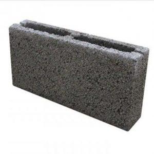Блок перегородочный керамзитобетонный 390 х 190 х 90