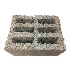 Блок керамзитобетонный 390 х 290 х 190