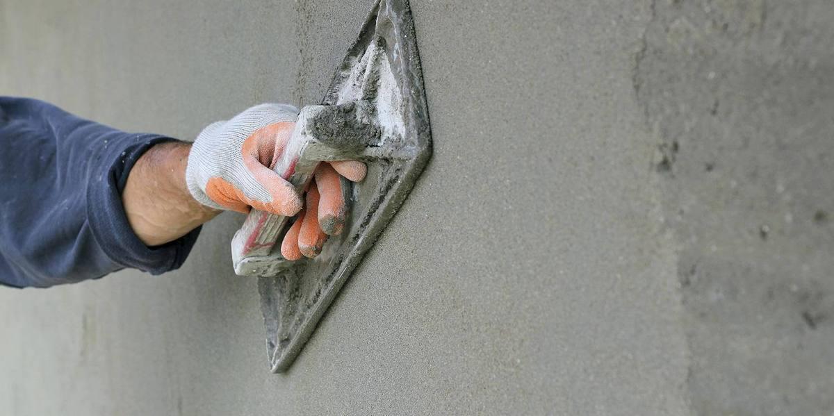 цементно-песчанная штукатурка