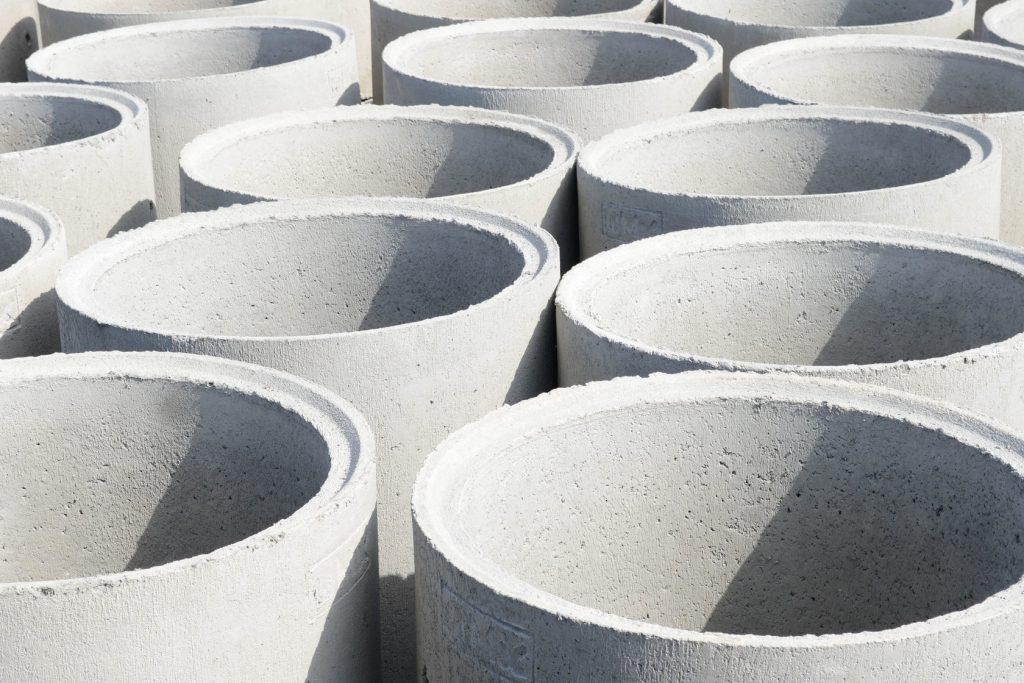 Достоинства бетонных колец