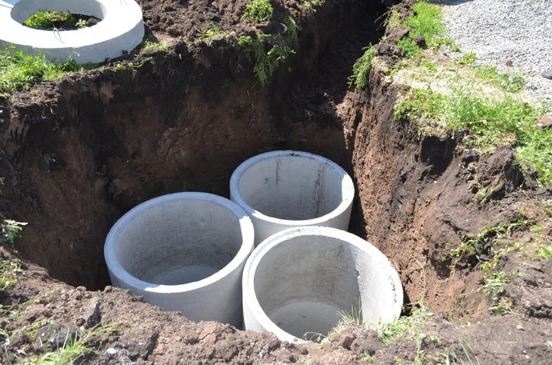 Септик из бетонных колец: что это такое