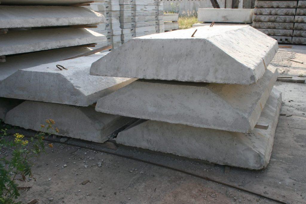 Описание и маркировка плит ленточного фундамента