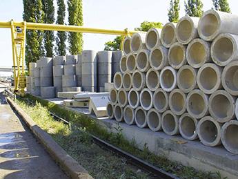 Бетонные кольца для водопровода