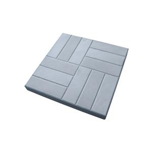Тротуарные плиты 12 камней серый