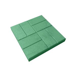 Тротуарные плиты 8 кирпичей (шагрень) цветной