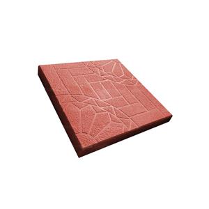Тротуарные плиты Ажур (шагрень) красная