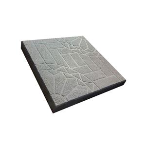 Тротуарные плиты Ажур (шагрень) серая