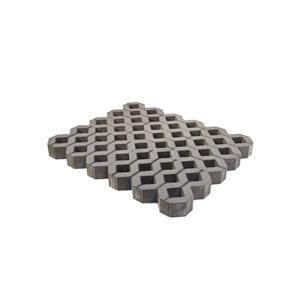 Тротуарные плиты Газонная решетка серая
