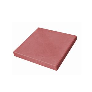 Тротуарные плиты Гладкая красная