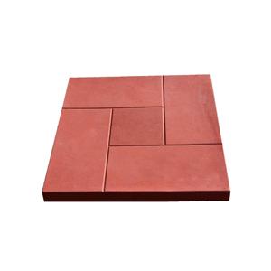 Тротуарные плиты Калифорния красная