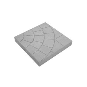 Тротуарные плиты Колодец серый