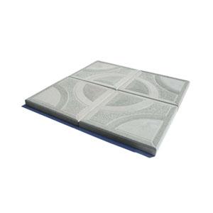 Тротуарные плиты Круг серый