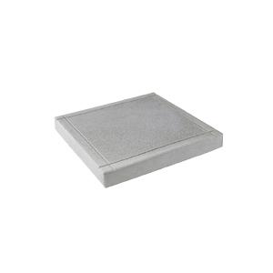Тротуарные плиты Шагрень серый