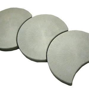 Тротуарные плиты Сектор серый