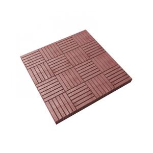 Тротуарные плиты Сетка красный