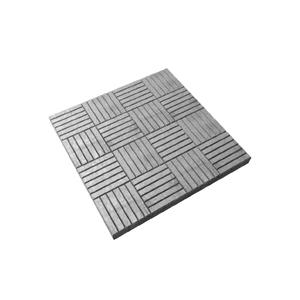 Тротуарные плиты Сетка серый