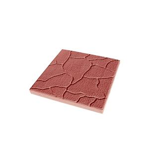Тротуарные плиты Тучка красная