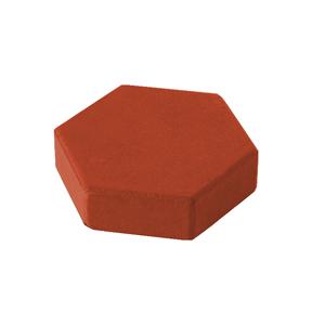 шестигранник красный